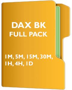 Dax Pack Back Adjusted