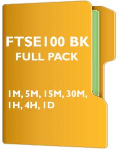 UK Ftse 100 Pack Back Adjusted