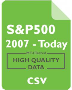 S&P 500 1m