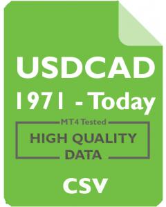 USDCAD 1w